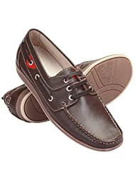 Cythos Men Vegas Shoes Brown Leather