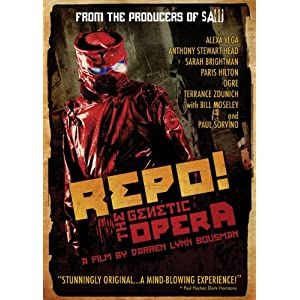 Click to buy Scariest Movies of All Time: Repo! The Genetic Opera from Amazon!