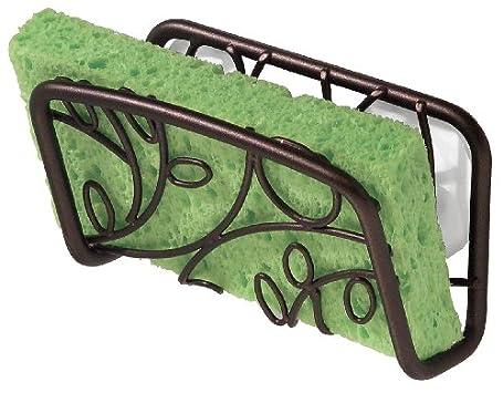 InterDesign Twigz Suction Sink Cradle, Bronze