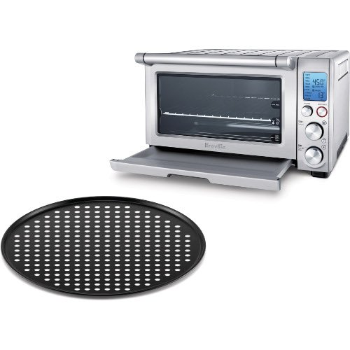 Breville Bov800Xl Reinforced Stainless Steel Smart Oven With 13 Inch Pizza Crisper