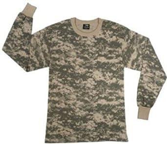 6775 ACU Digital Camouflage Army Kids Long Sleeve T-Shirt X-Small