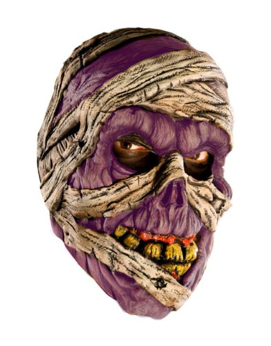 New Adult's Scary Evil Corpse Mummy Vinyl Costume Mask