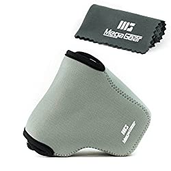 MegaGear ''Ultra Light'' Neoprene Camera Case Bag for Nikon Camera P600 (Grey)