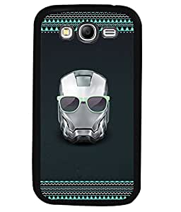 Printvisa 2D Printed Skull Designer back case cover for Samsung Galaxy Grand 2 SM - G7102 / G7106 - D4175