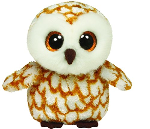 Ty Beanie Boos Swoops Brown Barn Owl Plush - 1