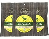 Original All Natural Venison Jerky - 3 PACK - The Best Wild Game Deer Jerky on the Market - 100% Whole Muscle Venison - No Added Preservatives, No Added Nitrates and No Added MSG - 6 total oz.