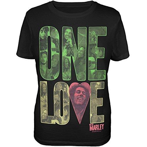 Bob Marley - Top - Donna Nero  nero