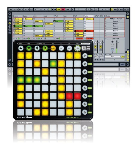 Novation Ableton Live用のMIDI PADコントローラー LaunchPad XHIR336537