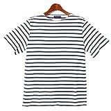 セントジェームス SAINT JAMES ボーダー Tシャツ レバント 10 LEVANT 10 9748 10.エクリュ×マリーン S [並行輸入品]