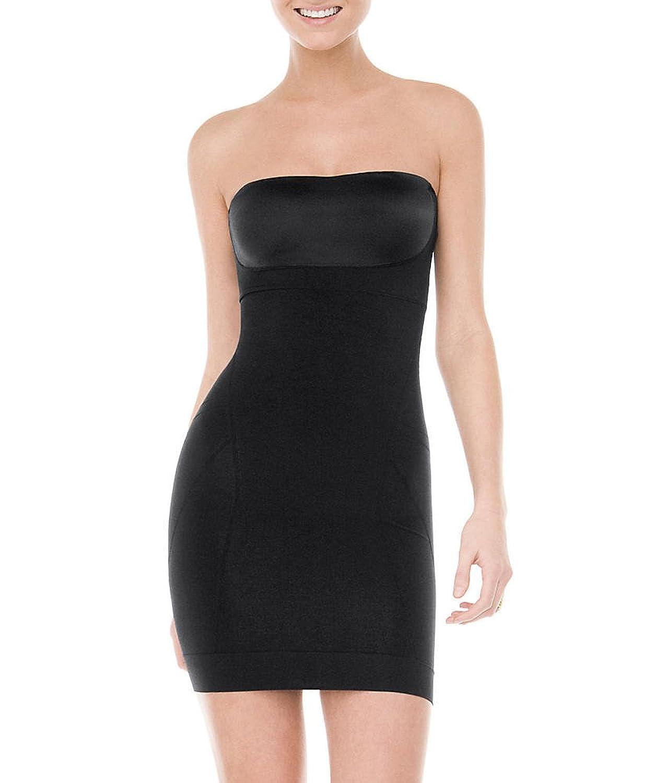 Spanx – Slimmer & Shine – Trägerloses Unterkleid – Strapless Slip – Rose Gold, Medium günstig online kaufen