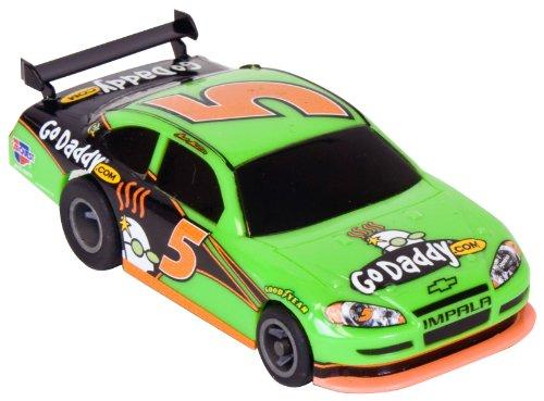 Life Like GoDaddy 5 NASCAR Fast Tracker Slot Car