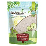 Organic Barley Flour by Food to Live (Stone Ground from Whole Hulled Barley, Non-GMO, Raw, Vegan, Bulk, Great for Baking, Product of the USA) 1 Pound