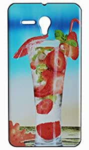 Vcare Shoppe Exclusive Printed Back case cover for Panasonic P65 Flash