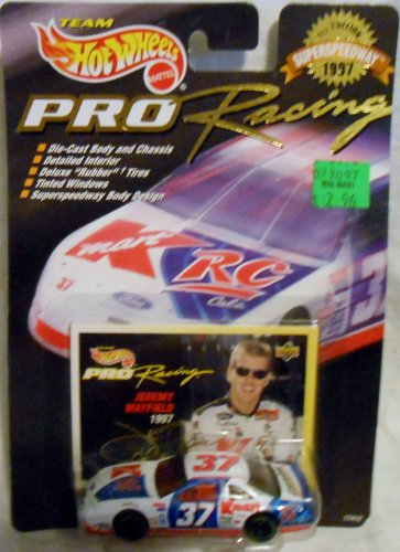 Team Hot Wheels Pro Racing '97 Superspeedway-1st-Edition #37 Jeremy Mayfield