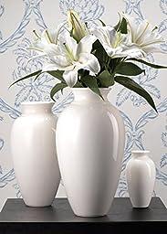 Medium White Porcelain Vase