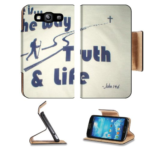 Believe In Jesus Samsung Galaxy S3 I9300 Flip Cover Case With Card Holder Customized Made To Order Support Ready Premium Deluxe Pu Leather 5 Inch (132Mm) X 2 11/16 Inch (68Mm) X 9/16 Inch (14Mm) Msd S Iii S 3 Professional Cases Accessories Open Camera Hea