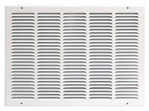 Speedi-Grille SG-2016 RAG 20-Inch by 16-Inch White Return Air Vent Grille with Fixed Blades