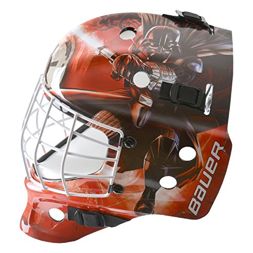 Bauer-Start-Wars-NME-Inlinehockey-Maske-Helm-fr-Straenhockey-fr-Erwachsene-Sport-Freizeit