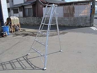 アルミ 三脚 6段(6尺 高さ約180cm) 農業 園芸用 脚立