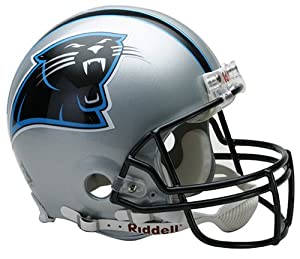 NFL Carolina Panthers Full Size Proline VSR4 Football Helmet by Riddell