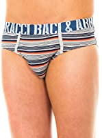 Baci & Abbracci Pack x 2 Slips (Gris Claro / Azul Marino / Coral)