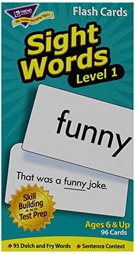 Sight Words-Level 1: Skill Drill Flash Cards