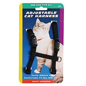 Coastal Pet Products CCP6341BLK Adjustable Figure H Harness - Black