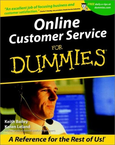 Online Customer Service For Dummies (For Dummies (Computers))