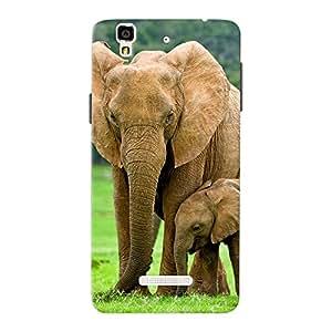 Mobile Back Cover For Micromax Yureka Plus (Printed Designer Case)