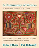Community of Writers, Telecourse Version, with WebWrite (0072522305) by Elbow, Peter