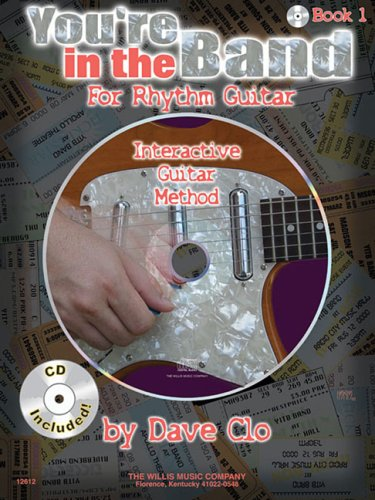You're in the Band - Interactive Guitar Method: Book 1 for Rhythm Guitar