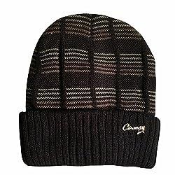 Camey men navy skull cap
