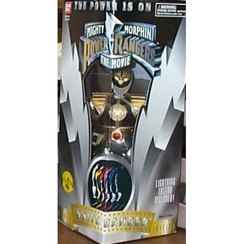 "Amazon.com: 8"" White Ranger Action Figure - Movie Edition"