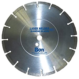 Bon 21-614 12-Inch Laser Welded Diamond Blade for Cutting Soft Abrasive Materials at Sears.com