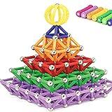 Tp Sky 130pcs Magnetic Sticks Building Set Intelligence Toys