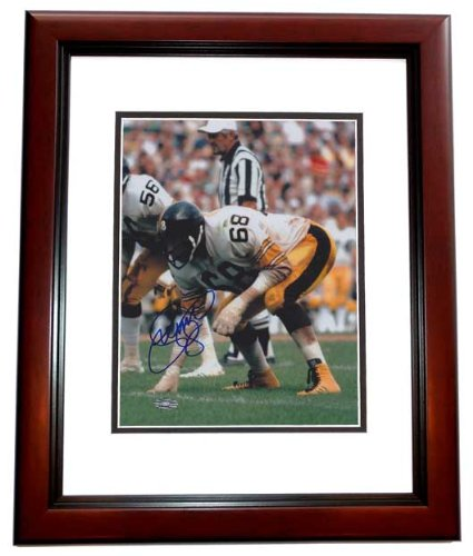 LC Greenwood Autographed / Hand Signed Pittsburgh Steelers 8x10 Photo - MAHOGANY CUSTOM FRAME - Deceased 2013 at Amazon.com
