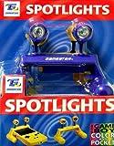 echange, troc Spots eclairants doubles violet