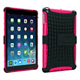 PrimeCases® Heavy Duty Pink Bumper Smart Thin Case Cover For Apple iPad Air