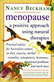 img - for Menopause - A Positive Approach Using Natural Therapies book / textbook / text book