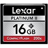 Lexar Platinum II 200x 16GB CompactFlash Memory Card LCF16GBSBNA200