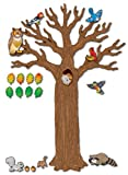 Carson Dellosa Big Tree with Animals Bulletin Board Set (110078)