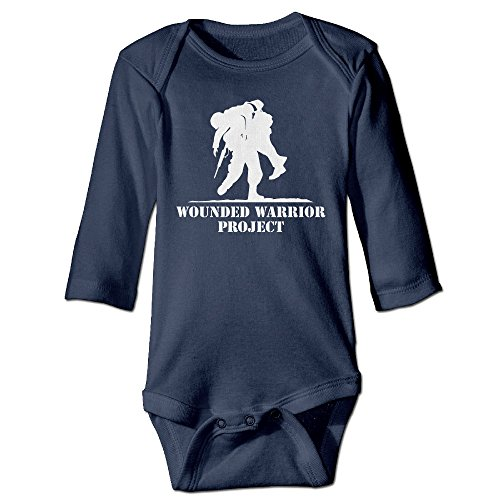[NINJOE NewBorn Wounded Warrior Project Long Sleeve Baby Climbing Clothes 24 M] (Boogie Man Nightmare Before Christmas Costumes)