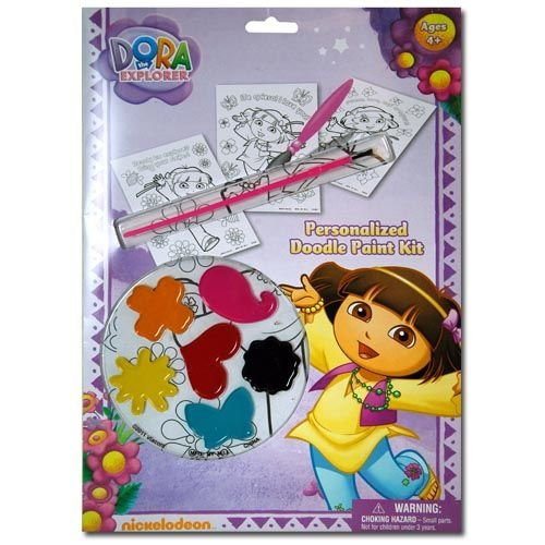 Dora the Explorer Personalized Doodle Paint Kit