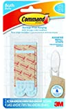 Command BATH22-ES-E 2 Medium and 4 Large Strips Assorted Water Resistant Refill Strips