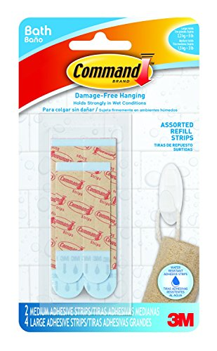 command-bath22-es-e-2-medium-and-4-large-strips-assorted-water-resistant-refill-strips