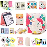 Nodartisan 12 in 1 Instax Mini 8/8+ Accessory Bundles Set (Colorful Mini 8 Case/Photo Case/Album/Hang Album/Lens/Filters/Film Frames/Hang Frames/Film Sticker/Camera Sticker/Battery Cover/Film Pouch)