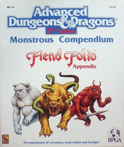 Fiend Folio: Appendix : Monstrous Compendium (Advanced Dungeons & Dragons, Mc14 2132) PDF