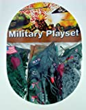 'Mini' Plastic Army Men Military Playset ~ Over 250 Pieces! 22mm Figures (15/16 inch) and Vehicles! Near HO scale.