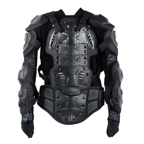 Cheap Motorcycle Full Body Armor Jacket Spine Chest Protection Gear Size S