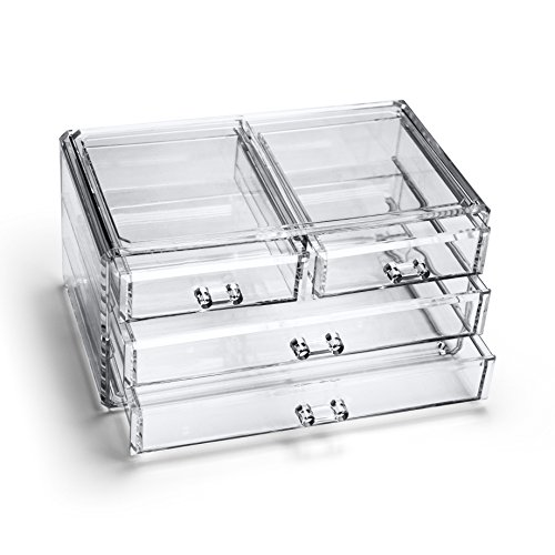 boxalls-clear-make-up-storage-acrylic-cosmetic-organizer-with-4-drawers-jewelry-cosmetic-box-caboodl